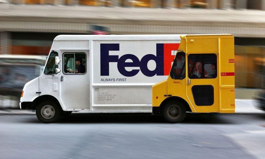FedEx faster than DHL