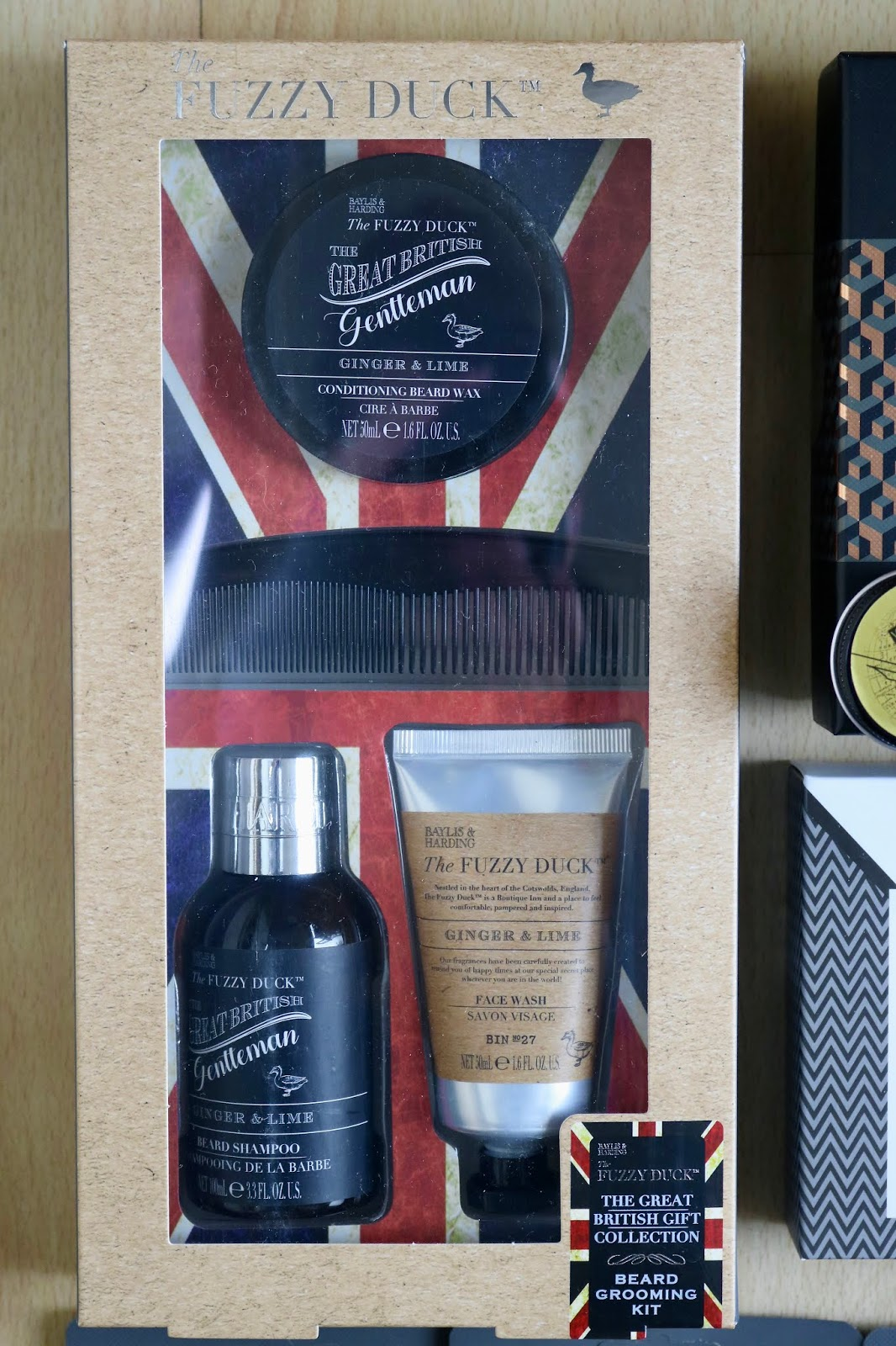 BAYLIS & HARDING GINGER AND LIME BEST BEARD SET