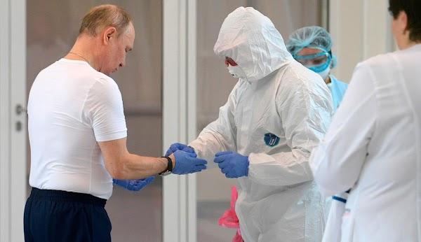 Presiden Putin: Rusia akan Kalahkan Virus Corona Kurang dari 3 Bulan