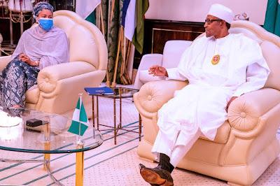 Photos as President Muhammadu Buhari receives Deputy SG of UN