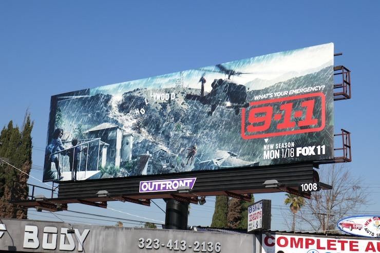 911 season 4 billboard