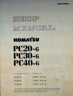 SEBM020R0604 Komatsu pc20- 6 pc30- 6 pc40-6