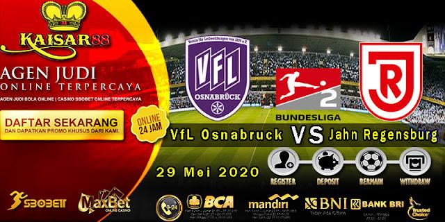 Prediksi Bola Terpercaya Liga Bundesliga 2 Osnabruck vs Jahn Regensburg 29 Mei 2020