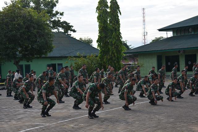 Ini yang Dilaksanakan Personil Makorem 141/Tp Saat Gelar Minggu Militer