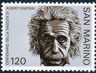 San Marino 1979 Birth Centenary of Albert Einstein