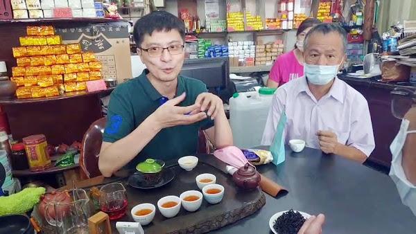 鹿港東茂茗茶雙喜臨門 吳建毅獲獎無數創造茶經濟
