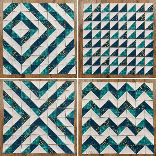 Half square triangles: the most versatile quilt block