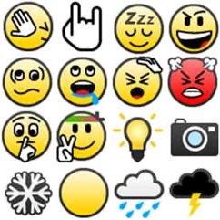 Emoticon Baru Di BBM 7