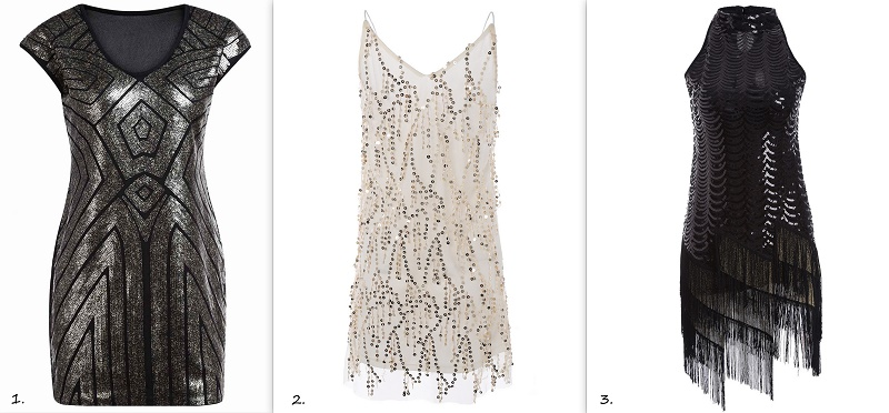 sequin dress for christmas zaful