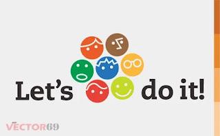Logo Let's do it! - Download Vector File AI (Adobe Illustrator)