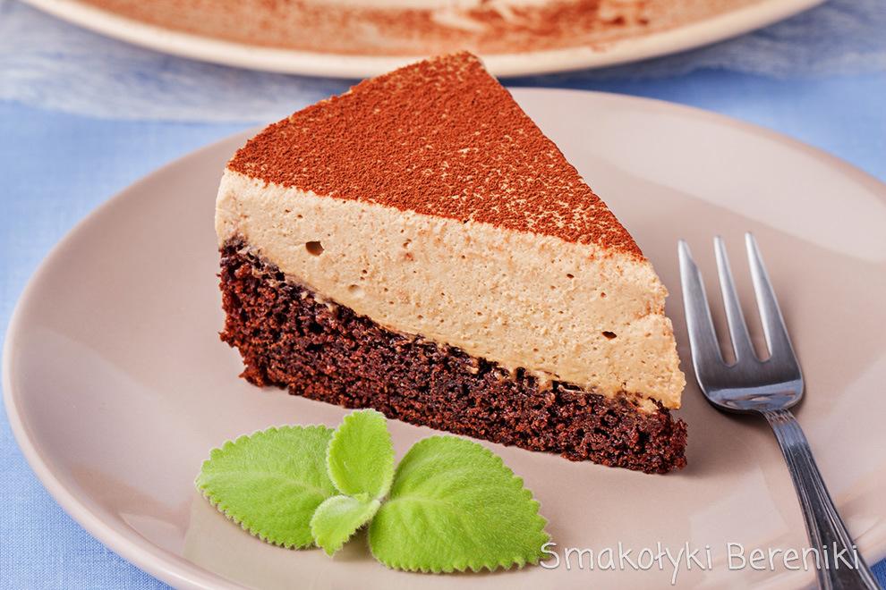 Ciasto czekoladowe z musem