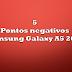 5 pontos negativos - Samsung Galaxy A5 2016