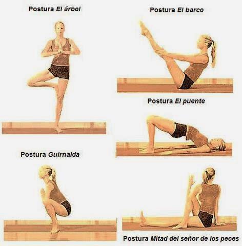 Postura yoga para expulsar gases