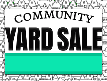 Community Yard Sale Image