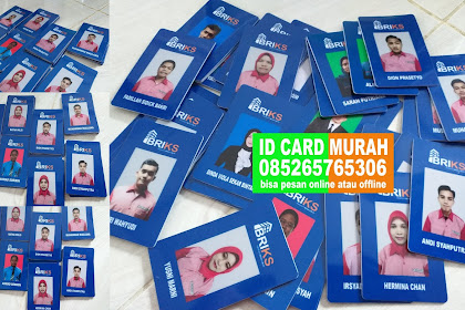 TEMPAT CETAK ID CARD PKU
