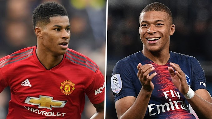 Mbappe:  'Rashford is one of the most dangerous forward players in England