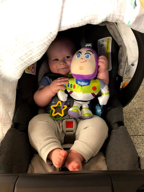 We survived a 9hr flight with an infant!