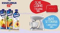 "Logo Santal "" Assapora la frutta per Esselunga "" : vinci Impastatrice Smeg o tostapane"