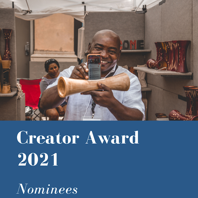 Creator Awards 2021 Nominees