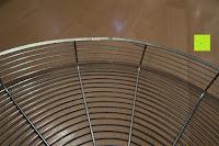 Schale: Andrew James 40cm Standventilator mit Chromfinish – 60 Watt Motor, Verstellbare Höhe, 3 Geschwindigkeitseinstellungen, verstellbare Neigung und Schwenkfunktion + Hochbeanspruchbar – 2 Jahre Garantie