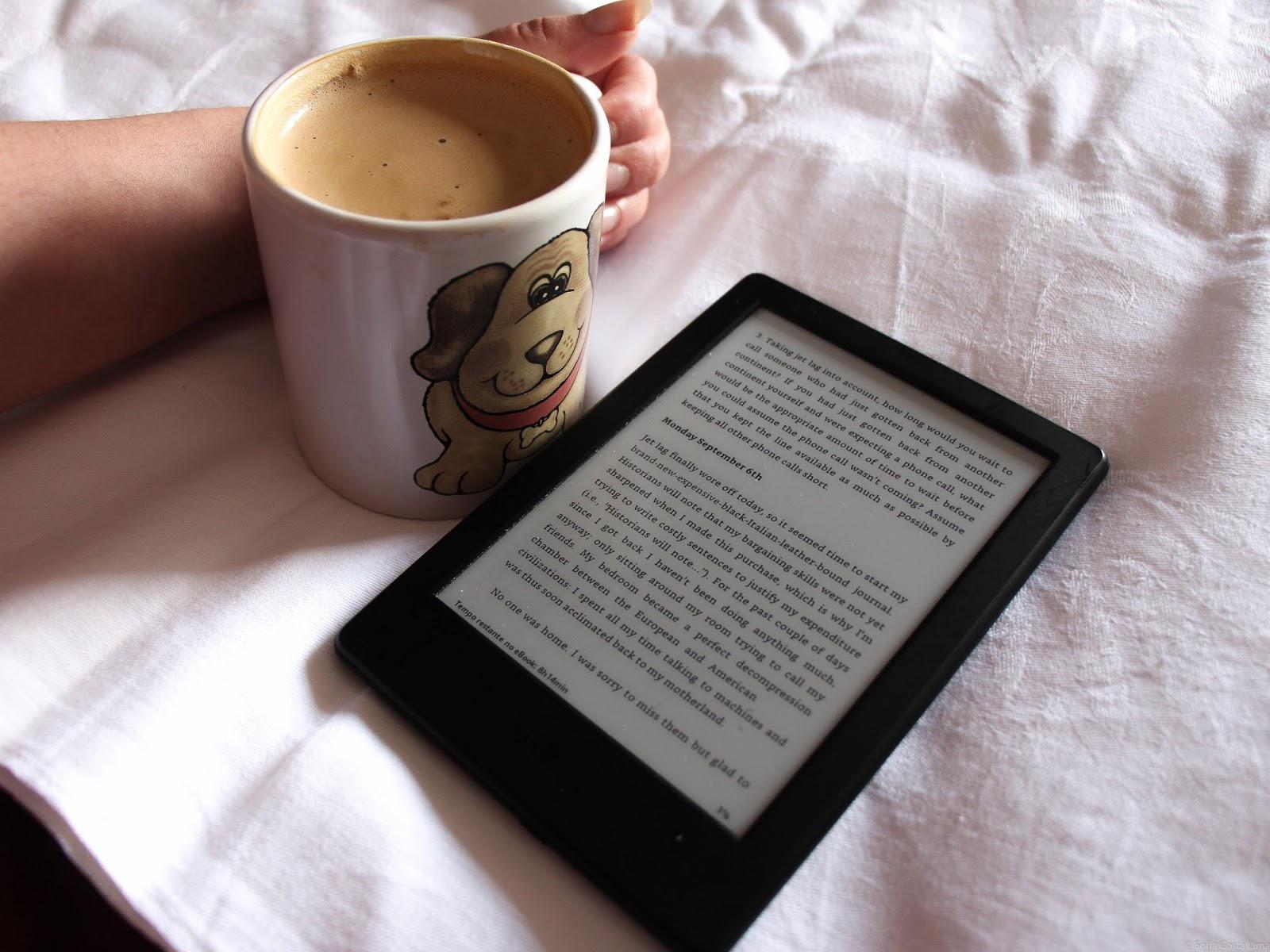 Hábitos de Leitura e o Kindle