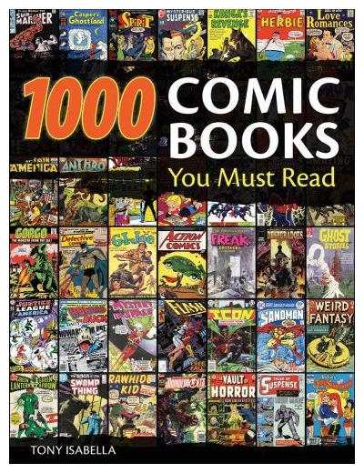 cover to 1,000 Comic Books You Must Read