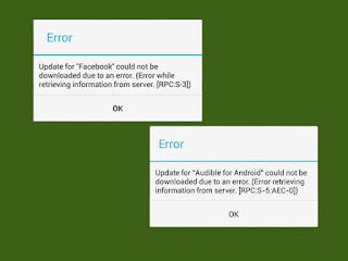 Cara Mengatasi Erro RPC Play Store