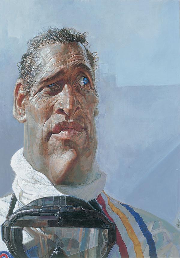 """""""Paul Newman"""" por Sebastian Krüger"""