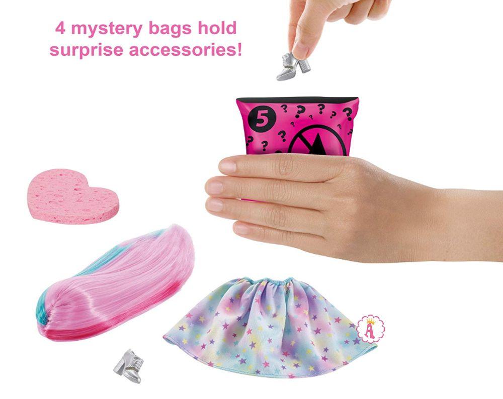 Аксессуары и одежда для куклы Барби 7 сюрпризов Barbie Color Reveal Doll
