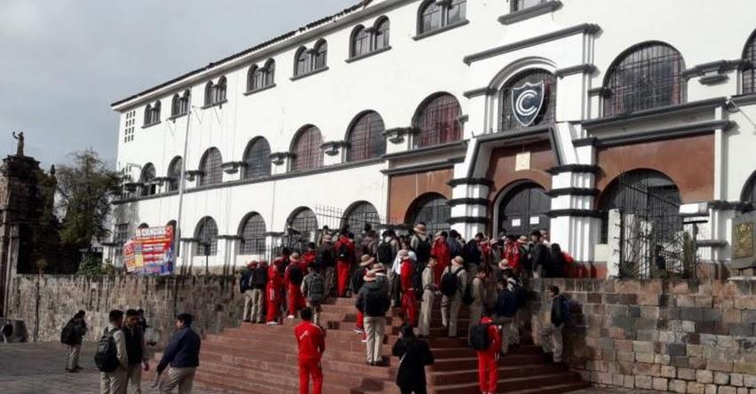 DRE Cusco retrasa horario de ingreso de escolares a colegios por bajas temperaturas