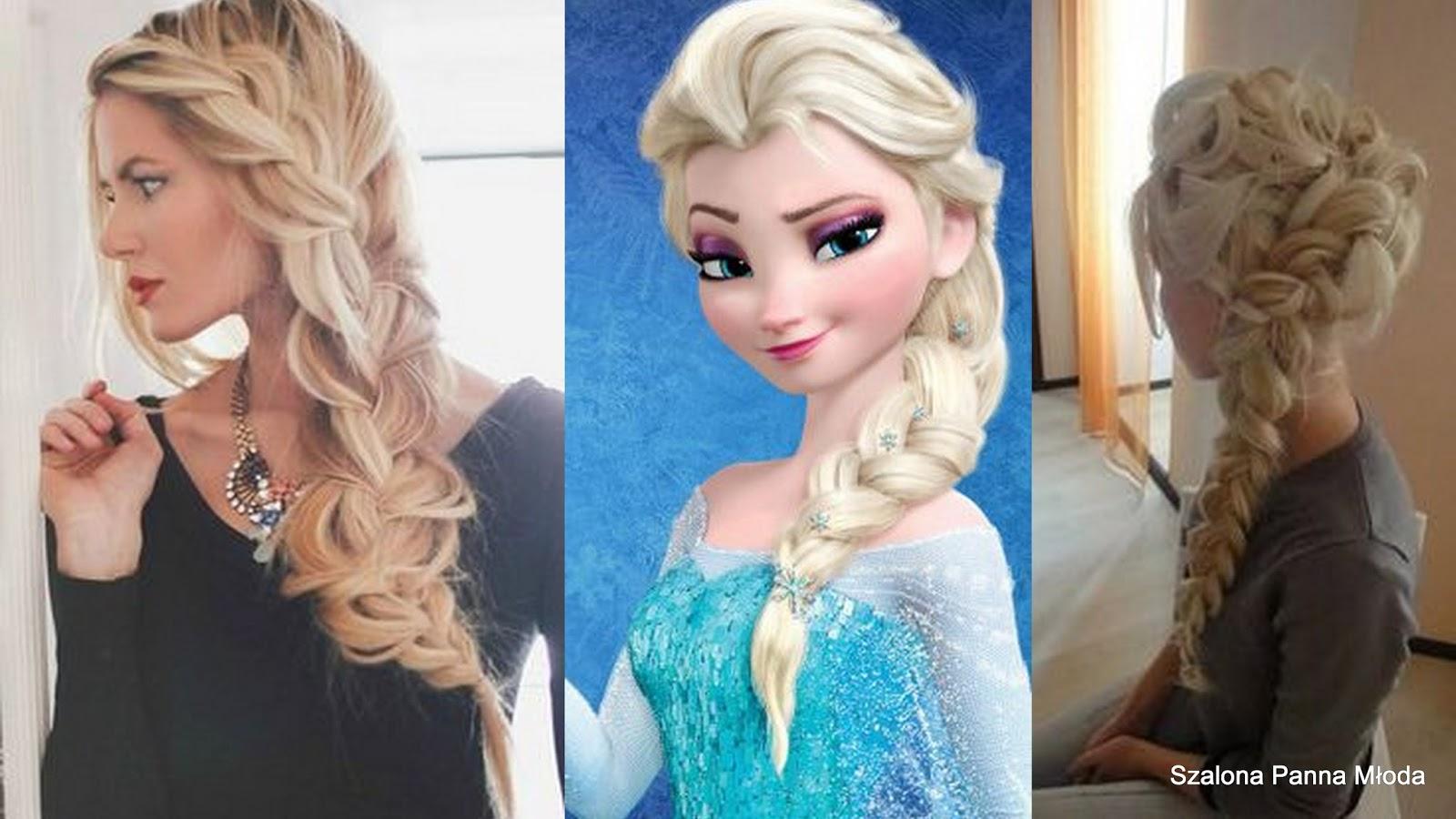 Fryzury ślubne Księżniczek Disneya Szalona Panna Młoda