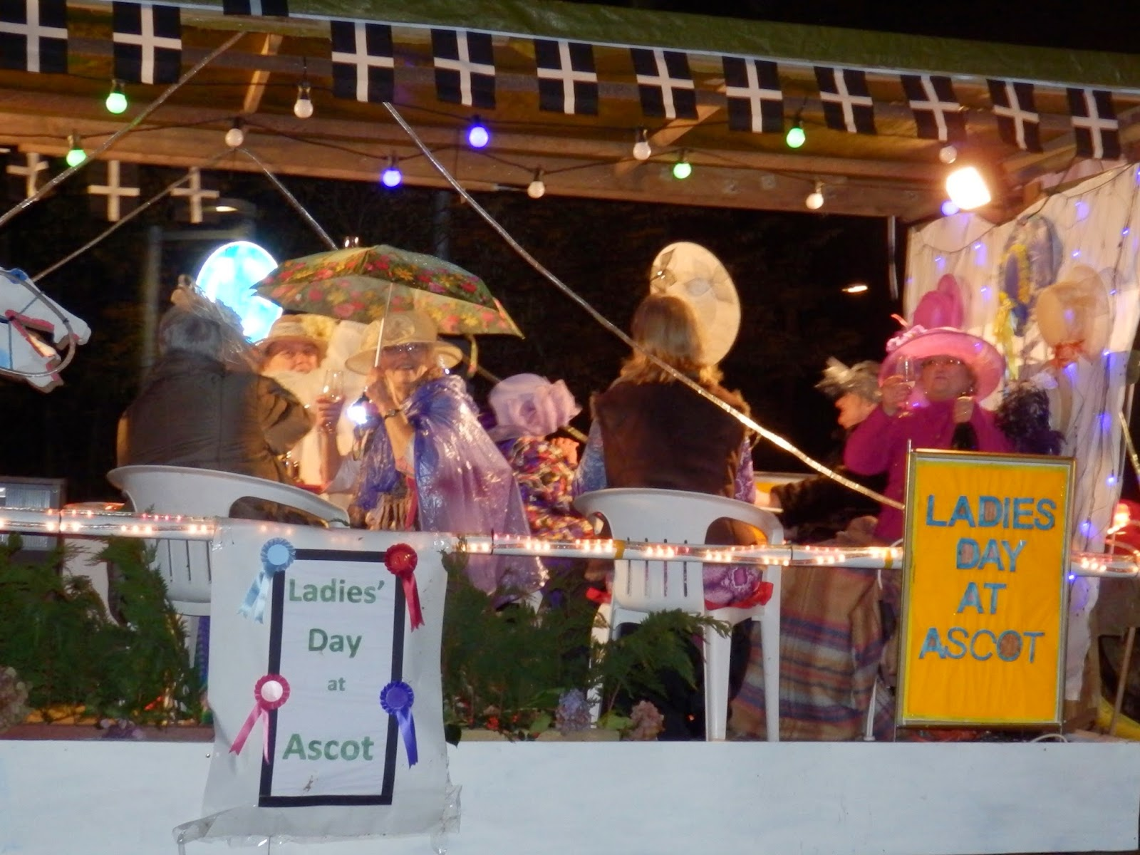 Float at the Torch Light Parade