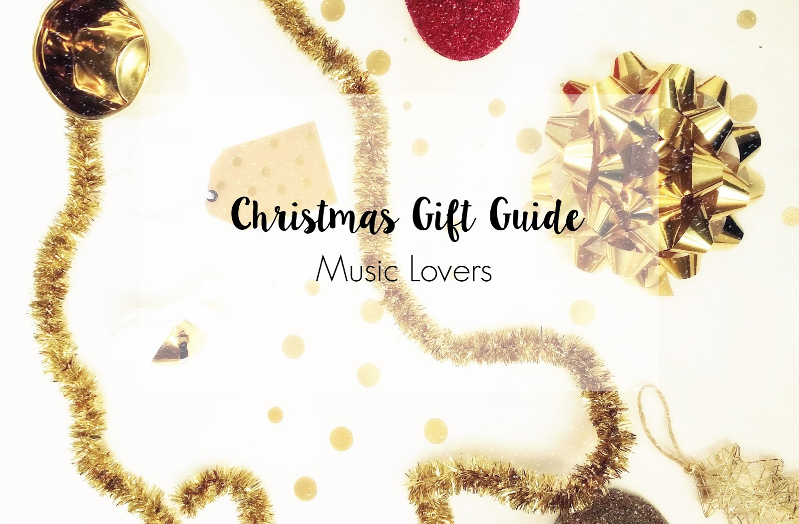 Christmas Gift Guide for Music Lovers