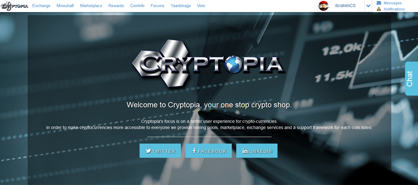 أفضل مواقع تبادل عملة البتكوين مع العملات الرقمية البديلة Altcoin, موقع Cryptopia.co.nz, موقع C-Cex.com, موقع Bittrex.com, موقع Bleutrade.com, موقع Poloniex.com, موقع Changelly.com, موقع ShapeShift.io, Exchange bitcoin sites