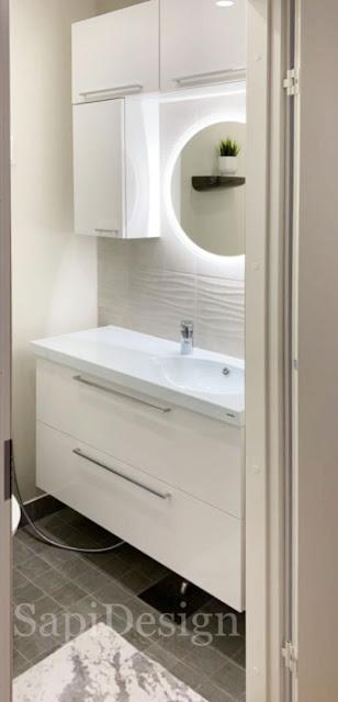 renovating interior design bathroom SapiDesign