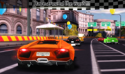Game balap ringan Mod City Racing 3D Apk Terbaru