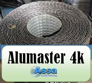Assa AluMaster Adheso es un sistema de sellado de techo de máxima calidad.