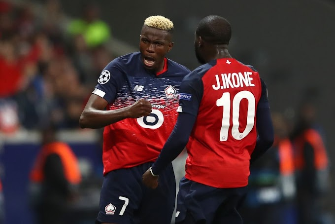 Hot demand Super Eagles striker joins Neymar & Mbappe to makes Ligue 1 Team of the Season
