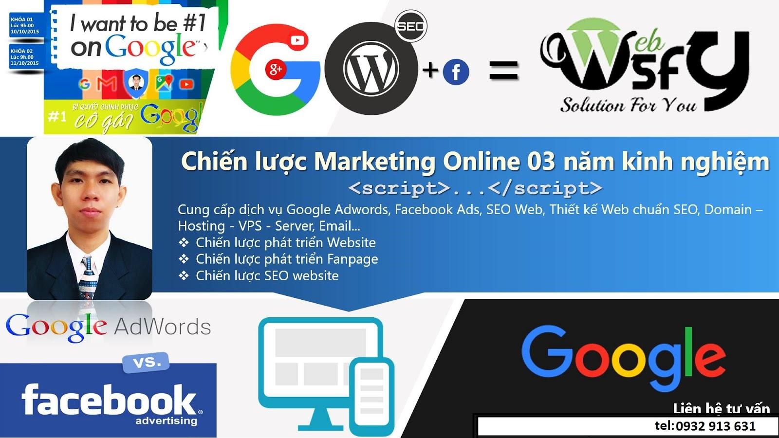 Dịch vụ quảng cáo Google Adwords tốt nhất TPHCM