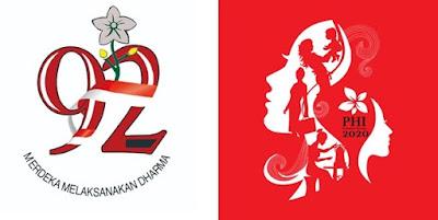 Logo Peringatan Hari Ibu (PHI) Ke - 92 Tahun 2020