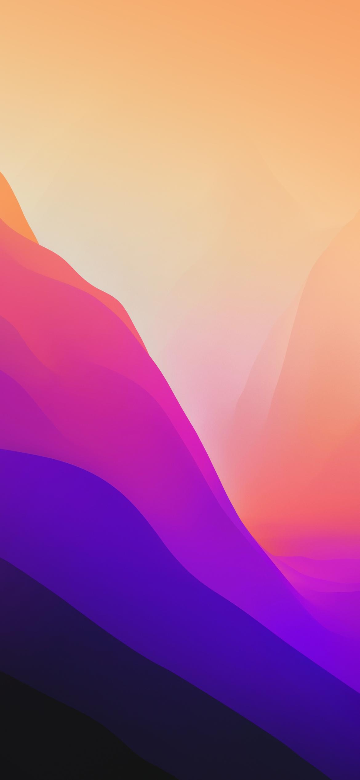 MacOS 12 Mobile wallpaper