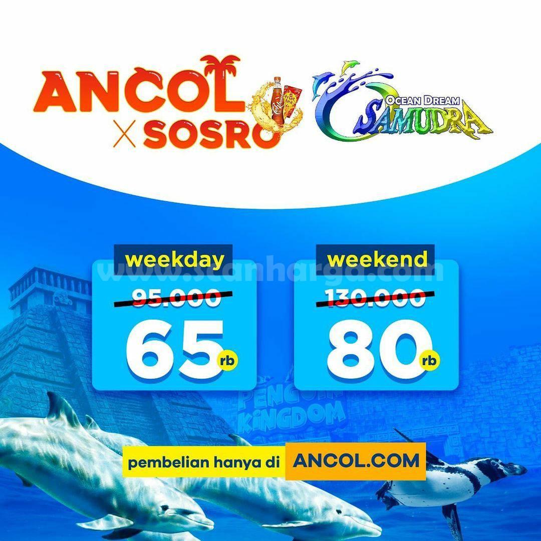 Ocean Dream Samudra ANCOL! Beli Tiket GRATIS Produk SOSRO