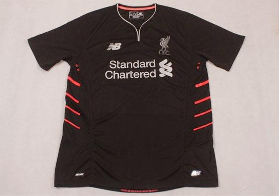 Jersey Bola Liverpool Away 16-17 Grade Ori Official Black