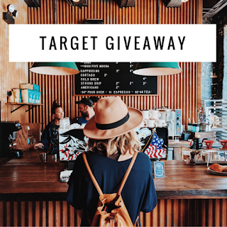 Enter the $200 Target Insta Giveaway. Ends 3/8