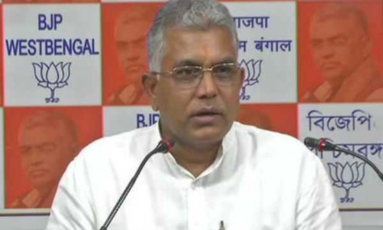 If the presidential rule is not issued, peace will not return to Bengal! Dilip Ghosh claims