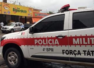 Em Guarabira, suspeito de tentativa de roubo é preso em flagrante por policiais do 4º BPM