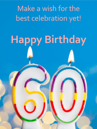 What Do You Say for 60th Birthday?