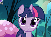 Twilight y Applejack Camp Fun juego