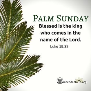 Happy palm sunday wishes 2018 text sms prayers sermon yew sunday palm sunday messages for friends m4hsunfo