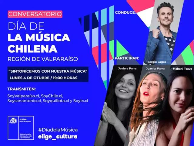 """El conversatorio """"Sintonicemos con nuestra música"""" reune a 3 artistas nacionales musica chilena música chilena"""